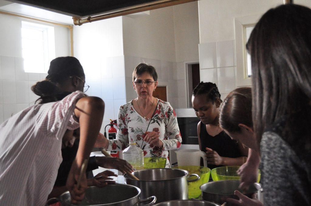 Mandela Day playdough making